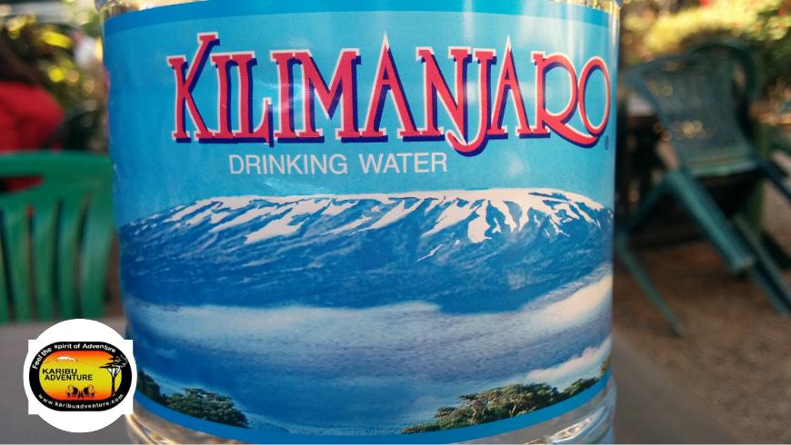 Kilimanjaro Drinking Water